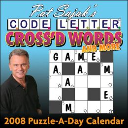 2008 Pat Sajak's Cross'd Words and More Box Calendar