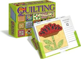 2009 Quilting Block & Pattern-a-Day Box Calendar