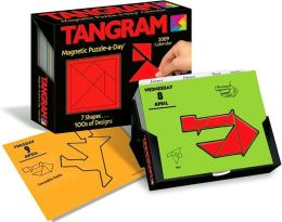 2009 Tangram Magnetic Puzzle-a-Day Box Calendar