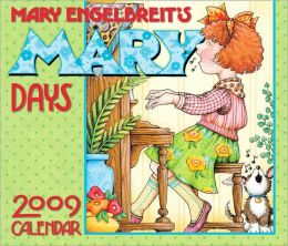 2009 Mary Engelbreit Mary Days Box Calendar