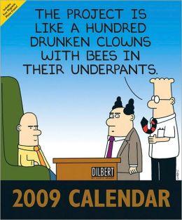 2009 Dilbert Wall Calendar