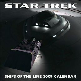 2009 Star Trek Ships of the Line Wall Calendar