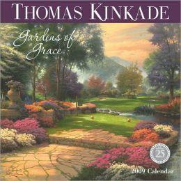 2009 Thomas Kinkade Gardens of Grace Wall Calendar
