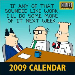 2009 Dilbert Mini Wall Calendar