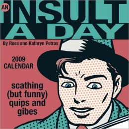 2009 Insult-A-Day Box Calendar