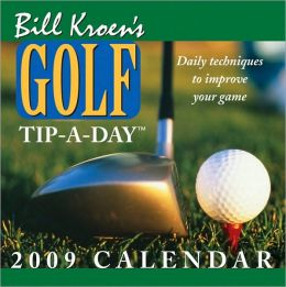 2009 Bill Kroen's Golf Tip-A-Day Box Calendar