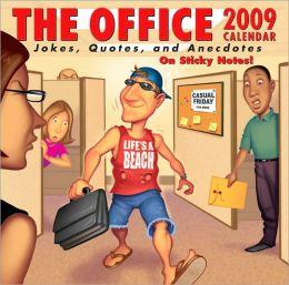 2009 Office Jokes Box Calendar