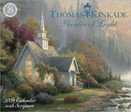 2009 Kinkade - Painter of Light w/ Scripture Box Calendar
