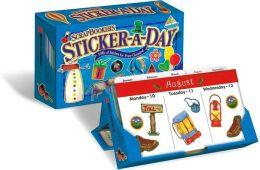2009 Scrapbooker's Sticker-A-Day Box Calendar
