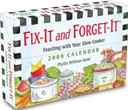 2009 Fix-It and Forget-It Box Calendar