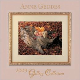 2009 Anne Geddes Gallery Collection Mini Wall Calendar