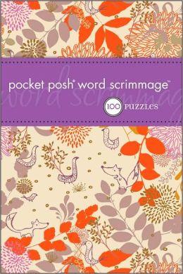 Pocket Posh WORDScrimmage: 100 Puzzles