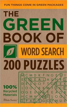 The Green Book of Word Search: 200 Puzzles