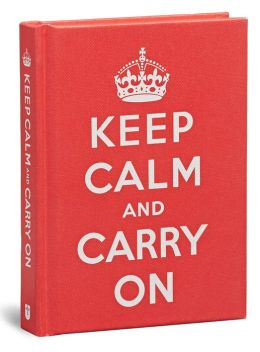 Keep Calm and Carry On Little Gift Book