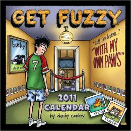 2011 Get Fuzzy Wall Calendar