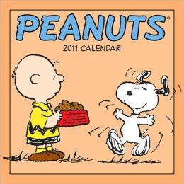 2011 Peanuts mini Wall Calendar