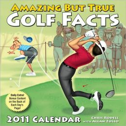2011 Amazing But True Golf Facts Box Calendar