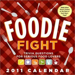 2011 Foodie Fight Box Calendar