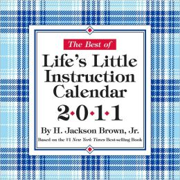 2011 Lifes Little Instruction Box Calendar