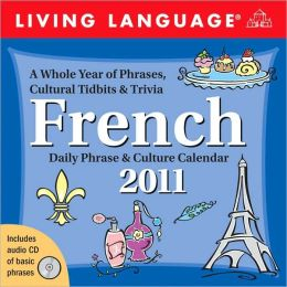 2011 Living Language: French Box Calendar