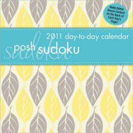 2011 Posh Sudoku Box Calendar