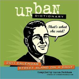 2011 Urban Dictionary Box Calendar