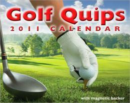 2011 Golf Quips mini Box Calendar