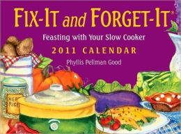 2011 Fix It and Forget It Box Calendar