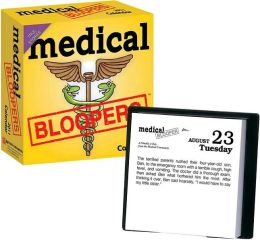 2011 Medical Blooopers Box Calendar