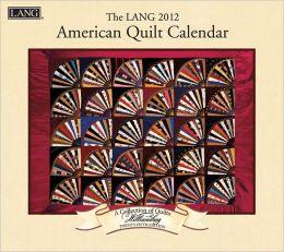 2012 American Quilt Wall Calendar