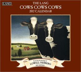 2012 Cows Cows Cows Wall Calendar