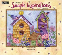 2012 Simple Inspirations Wall Calendar