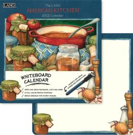 2012 American Kitchen Whiteboard Calendar