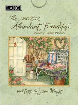 2012 Abundant Friendship Monthly Pocket Planner Calendar