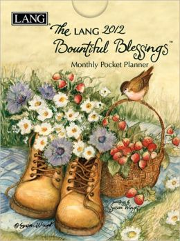 2012 Bountiful Blessings Monthly Pocket Planner Calendar