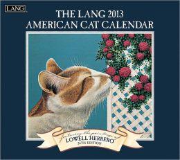 2013 AMERICAN CAT WALL CALENDAR