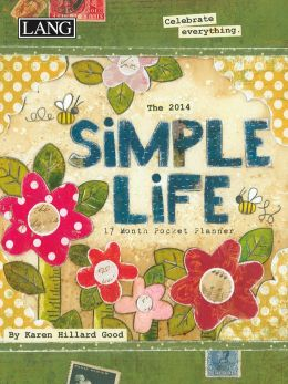 2014 Simple Life Monthly Pocket Planner