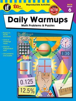 Daily Warm-Ups: Math Problems and Puzzles Grade 6