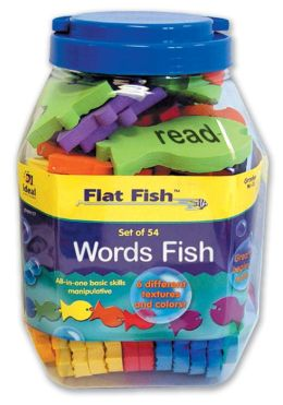 Flat Fish Words Set