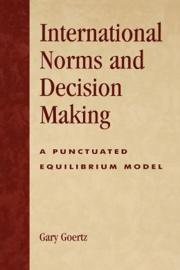 International Norms And Decisionmaking