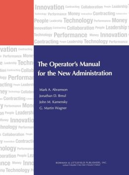 Operator's Manual For The New Administration
