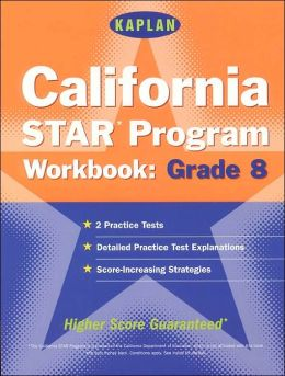 California STAR Program Workbook: Grade 8