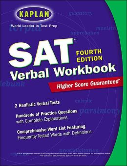 Kaplan SAT Verbal Workbook