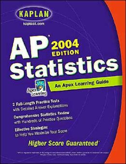 AP Statistics 2004: An Apex Learning Guide