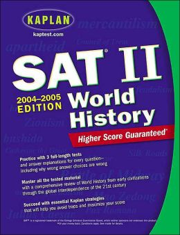 SAT II: World History