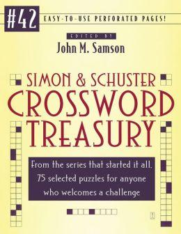 Simon & Schuster Crossword Treasury #42