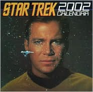2002 Star Trek Wall Calendar