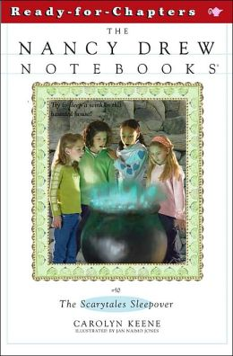 The Scarytales Sleepover (Nancy Drew Notebooks Series #50)
