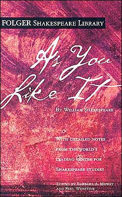 As You Like It (Folger Shakespeare Library Series)