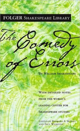 The Comedy of Errors (Folger Shakespeare Library Series)